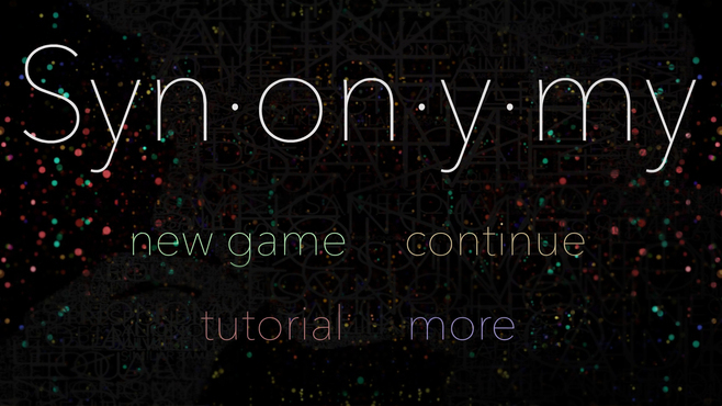 Synonymy Screenshot 1