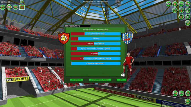 Tactical Soccer The New Season Screenshot 7