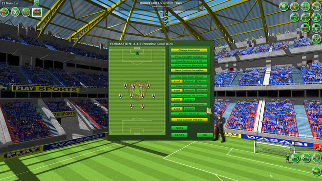 Tactical Soccer The New Season Screenshot 10