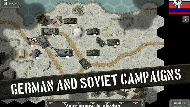 Tank Battle: East Front Screenshot 1
