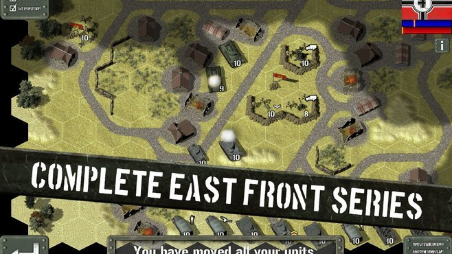 Tank Battle: East Front Screenshot 2