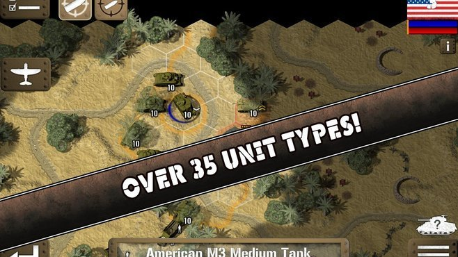 Tank Battle: North Africa Screenshot 2