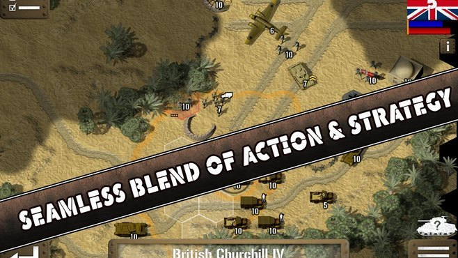 Tank Battle: North Africa Screenshot 3