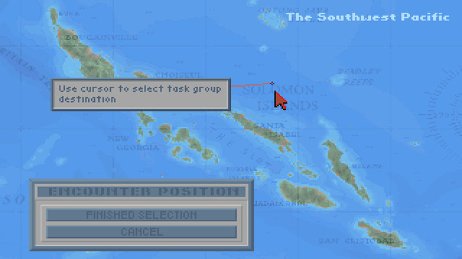Task Force 1942: Surface Naval Action in the South Pacific Screenshot 2