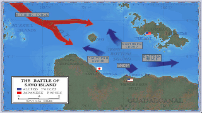 Task Force 1942: Surface Naval Action in the South Pacific Screenshot 7