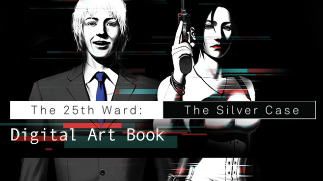 The 25th Ward: The Silver Case - Digital Art Book Screenshot 1