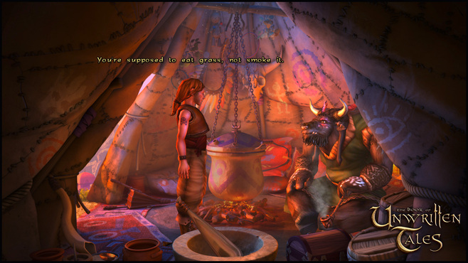 The Book of Unwritten Tales Collection Screenshot 1