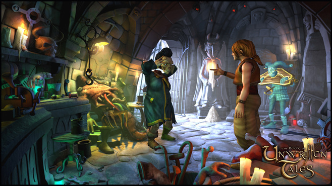The Book of Unwritten Tales Collection Screenshot 4