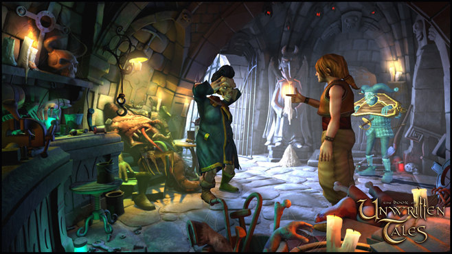 The Book of Unwritten Tales Deluxe Edition Screenshot 4