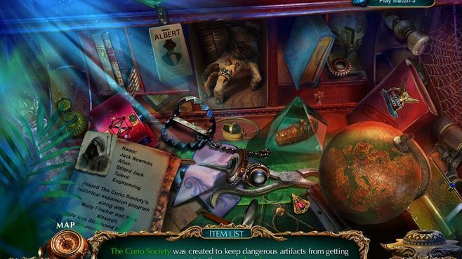 The Curio Society: The Thief of Life Collector's Edition Screenshot 9