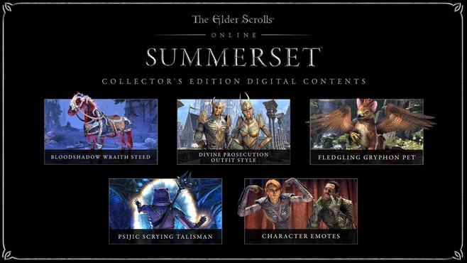 The Elder Scrolls Online: Summerset Digital Collector's Edition Screenshot 1