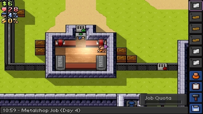The Escapists - Fhurst Peak Correctional Facility Screenshot 10