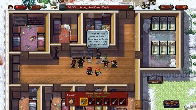 The Escapists: The Walking Dead - Deluxe Edition Screenshot 5
