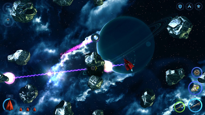 The Galactic Asteroids Patrol Screenshot 2
