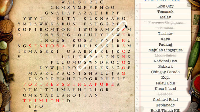 The Great International Word Search Screenshot 1