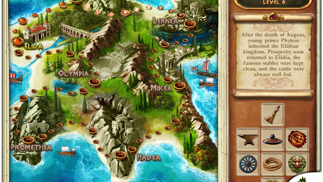 The Path of Hercules Screenshot 2
