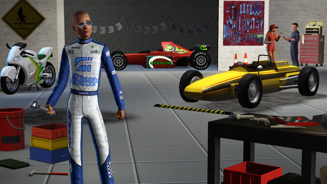 The Sims 3 Fast Lane Stuff Screenshot 4