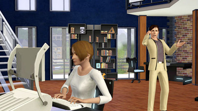 The Sims 3: High End Loft Stuff Screenshot 1