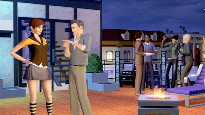 The Sims 3: High End Loft Stuff Screenshot 2
