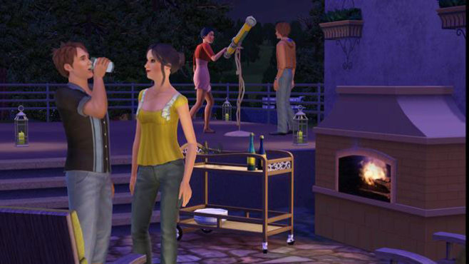 The Sims 3 Outdoor Living Stuff Screenshot 1