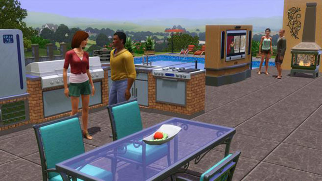 The Sims 3 Outdoor Living Stuff Screenshot 3