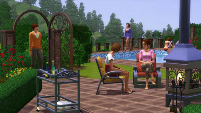 The Sims 3 Outdoor Living Stuff Screenshot 4