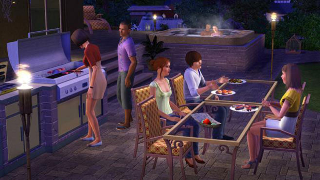 The Sims 3 Outdoor Living Stuff Screenshot 5