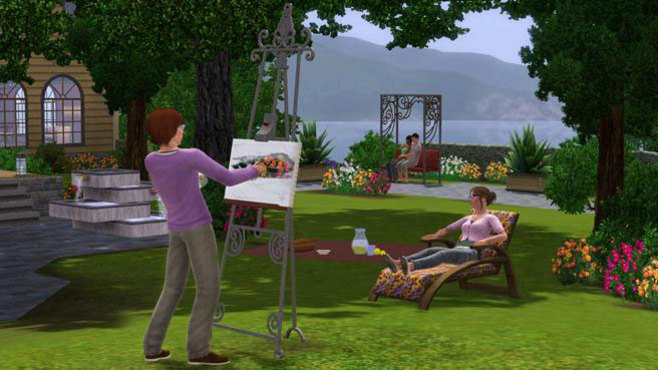 The Sims 3 Outdoor Living Stuff Screenshot 6