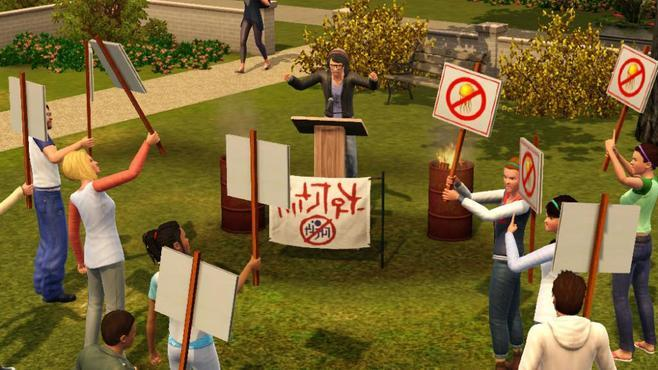 The Sims 3 University Life Screenshot 2