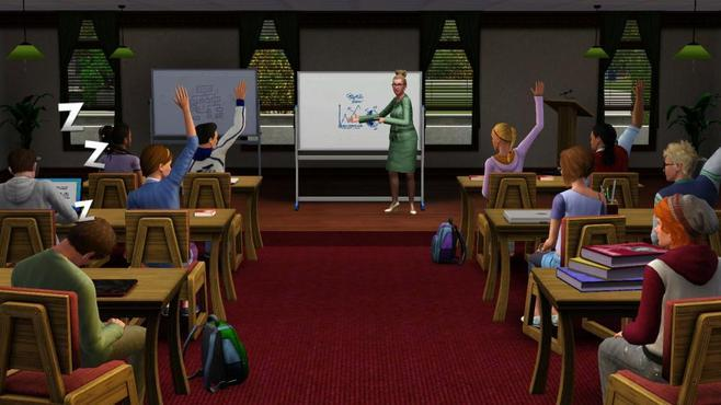 The Sims 3 University Life Screenshot 6