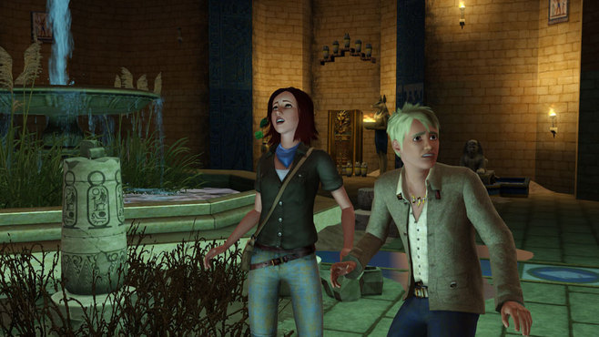 The Sims 3 World Adventures Expansion Pack Screenshot 2