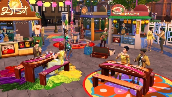 The Sims 4 City Living Screenshot 5