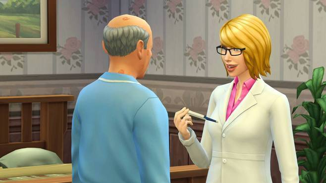 The Sims 4 Get to Work Screenshot 1