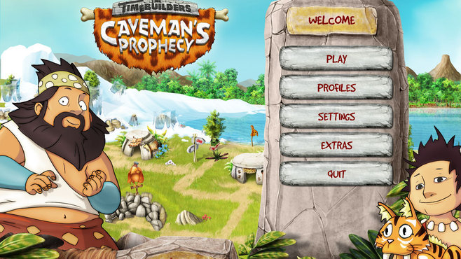 The TimeBuilders - Caveman's Prophecy Screenshot 2