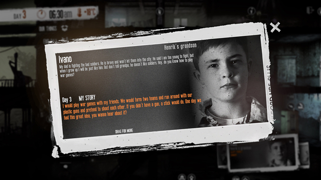 This War of Mine - The Little Ones DLC Screenshot 2