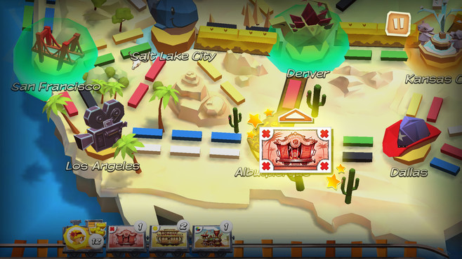 Ticket to Ride: First Journey Screenshot 5