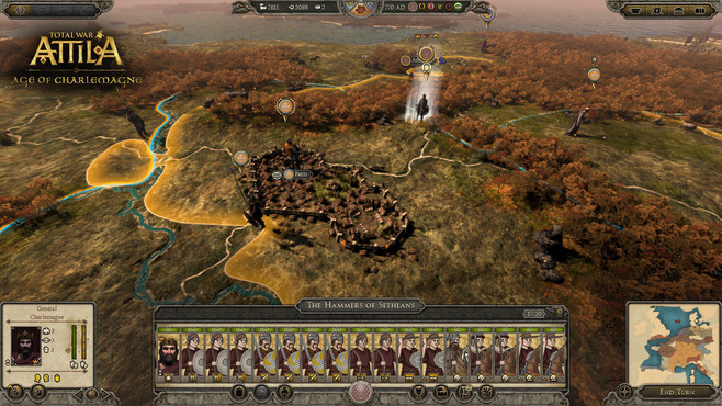 Total War™: ATTILA – Age of Charlemagne Campaign Pack Screenshot 1