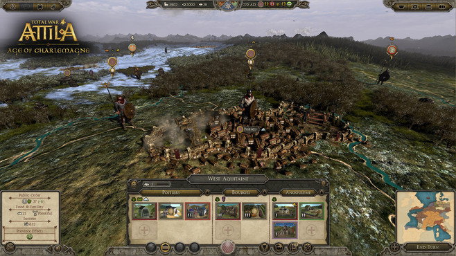 Total War™: ATTILA – Age of Charlemagne Campaign Pack Screenshot 5