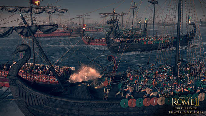 Total War: ROME II - Pirates and Raiders Culture Pack Screenshot 1
