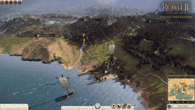 Total War: ROME II - Pirates and Raiders Culture Pack Screenshot 2