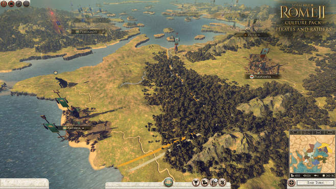 Total War: ROME II - Pirates and Raiders Culture Pack Screenshot 3