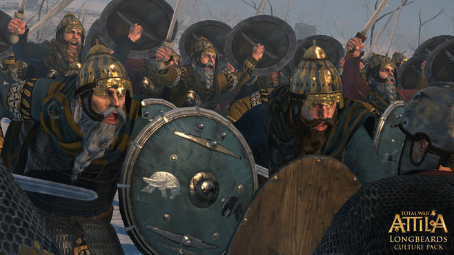 Total War™: ATTILA - Longbeards Culture Pack Screenshot 1