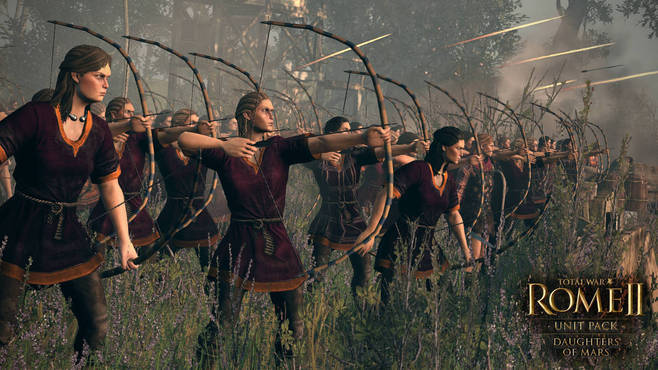 Total War™: ROME II - Daughters of Mars Unit Pack Screenshot 3