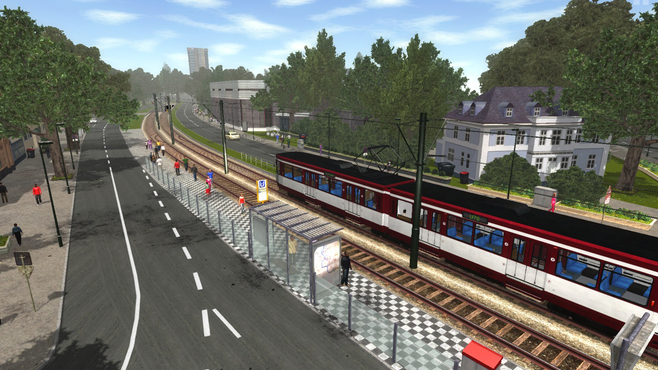 Tram Simulator Düsseldorf Screenshot 1