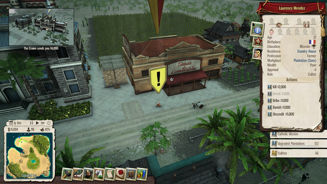 Tropico 5: Inquisition DLC Screenshot 4