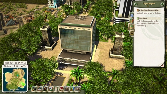 Tropico 5: Supercomputer DLC Screenshot 3