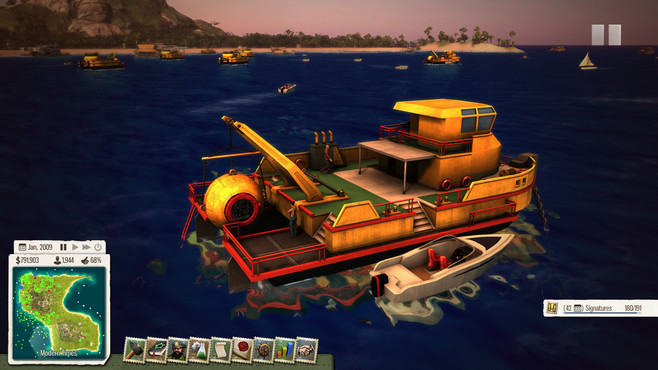 Tropico 5: Waterborne DLC Screenshot 1