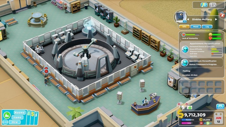 Two Point Hospital: Close Encounters Screenshot 2