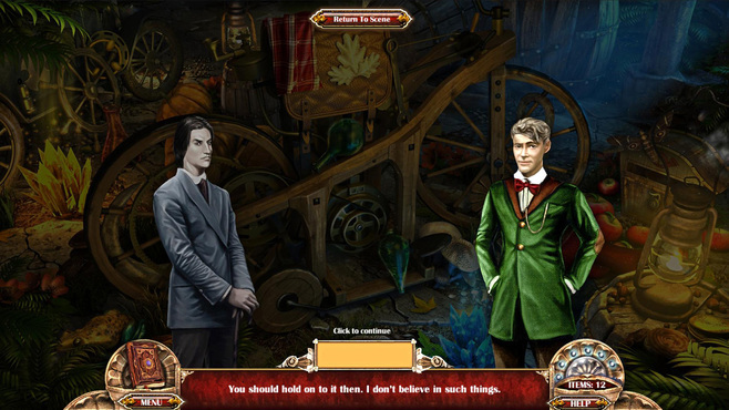 Vampire Secrets - Eternal Love Screenshot 1