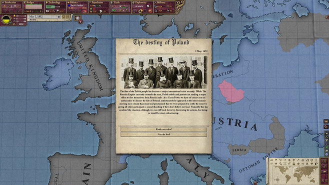 Victoria 2: Heart of Darkness Screenshot 1